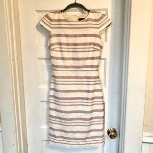 Striped J.Crew Work Dress